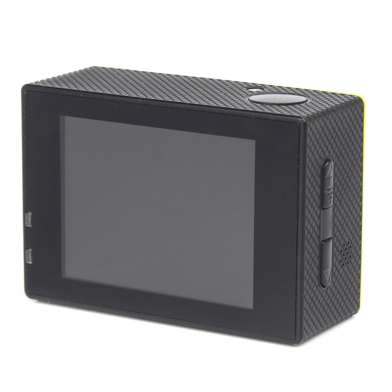 H16 1080P draagbare WiFi Waterdicht Sport Camera, 2.0 inch scherm, Generalplus 4248, 170 A + graden brede hoeklens, steun TF Card(hard roze)