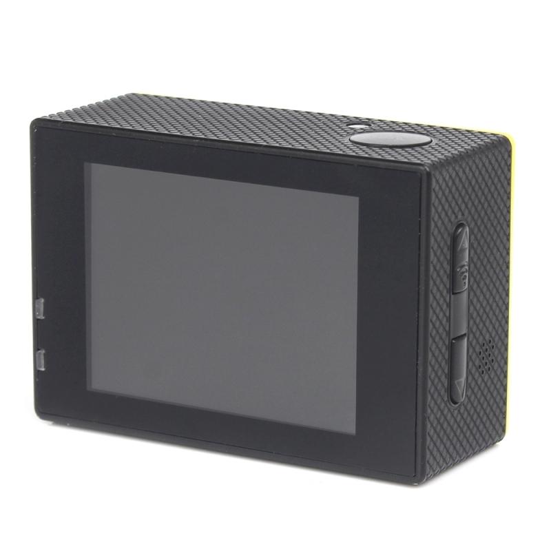 H16 1080P draagbare WiFi Waterdicht Sport Camera  2.0 inch scherm  Generalplus 4248  170 A + graden brede hoeklens  steun TF Card(zilver)