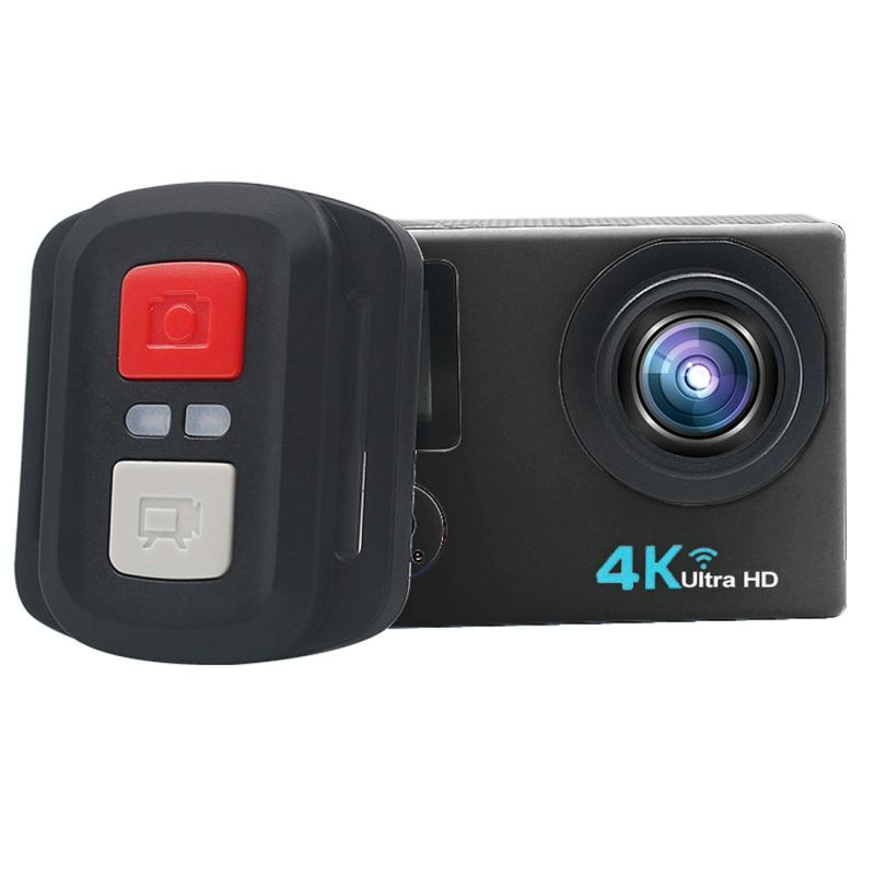 HAMTOD HB6R HD 1080P WiFi Sport Camera met afstandsbediening & waterdicht geval, Generalplus 4247, 2.0 inch LCD-scherm, 140 graden breed hoek Lens(Black)