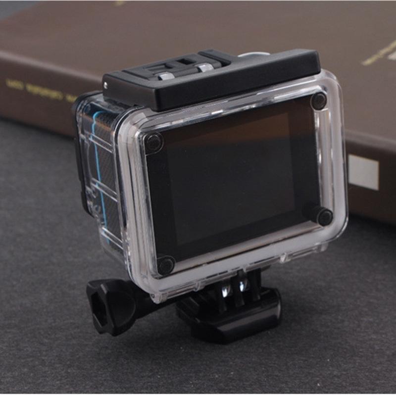 HAMTOD HK2TR HD 4K WiFi Sport Camera met afstandsbediening & waterdicht geval, Generalplus 4247, 2.0 inch LCD-scherm, 170 graden een brede hoek-Lens(Black)