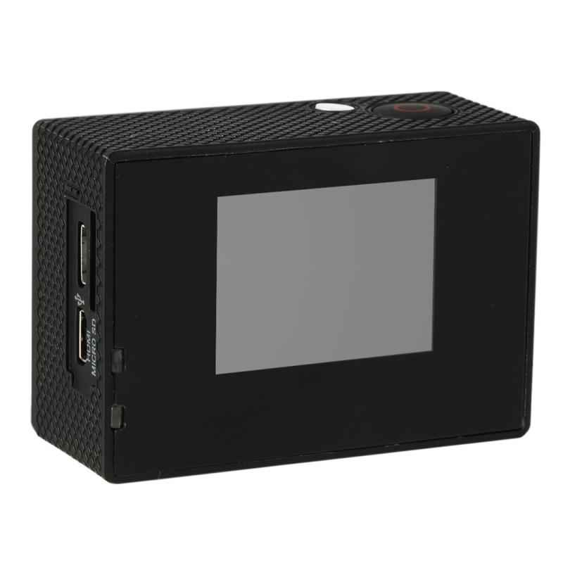 HAMTOD HSJ400 Sport Camera met 30m waterdicht geval, Generalplus 6624, 2.0 duim LCD Screen(Blue)