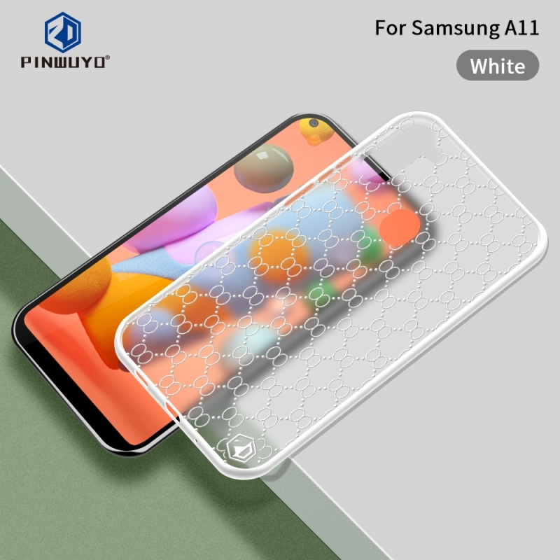 Voor Samsung Galaxy A11(U.S) PINWUYO Series 2 Generation PC + TPU waterdicht en anti-drop all-inclusive beschermhoes(wit)