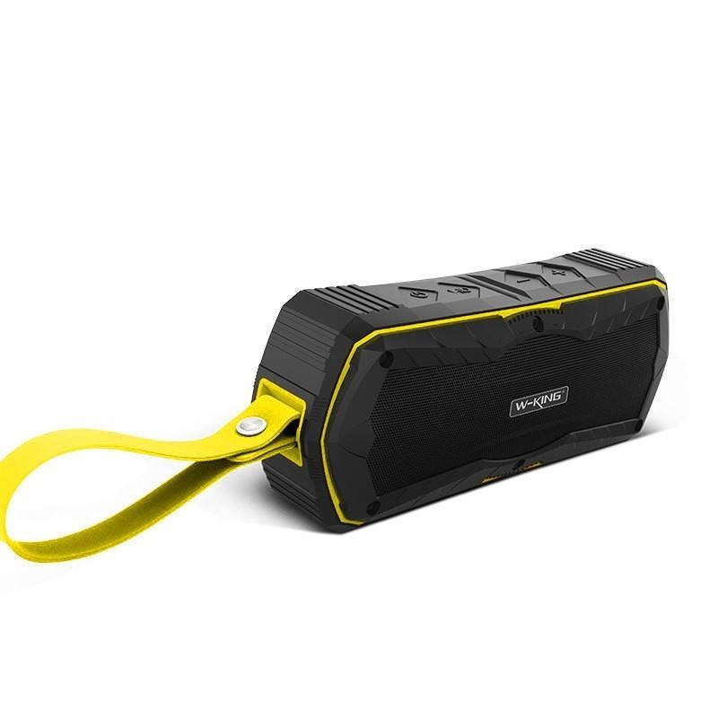 Afbeelding van W-King S9 outdoor speakers draadloze Bluetooth Speaker Portable waterdicht met radio Bluetooth Speakers (geel)