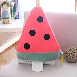 Afbeelding van Ice Cream stick pluche speelgoed zomer decor kussen kids speelgoed (watermeloen)