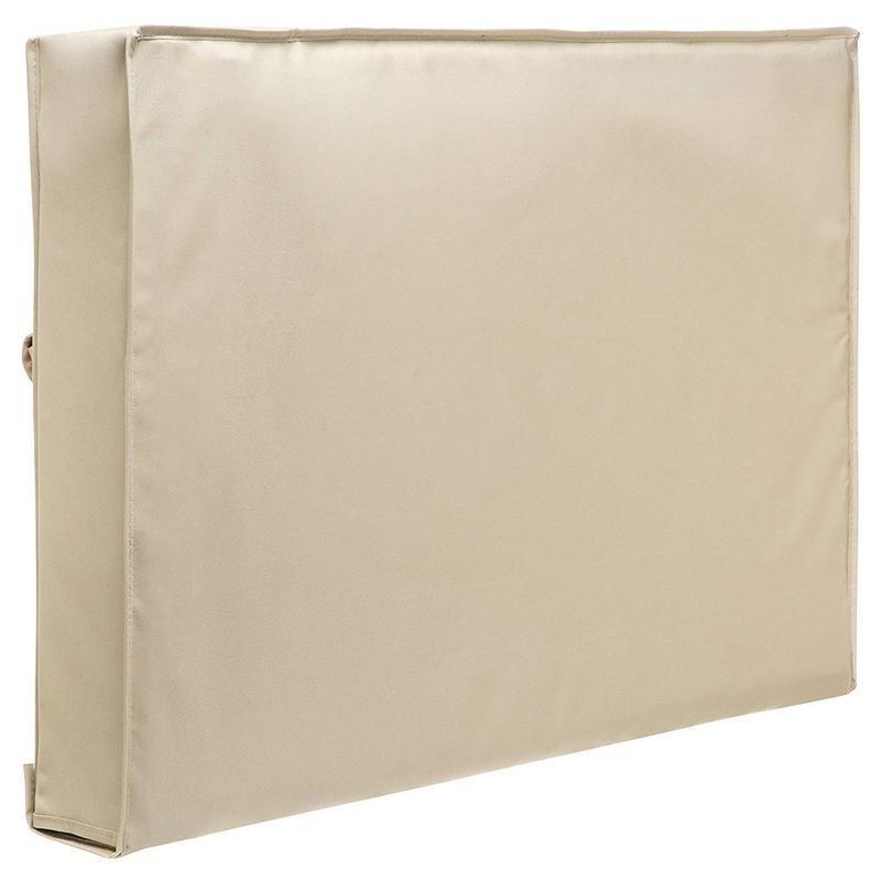 Outdoor TV Waterproof Dustproof Beige Protector Cover  Size:60-65 inch