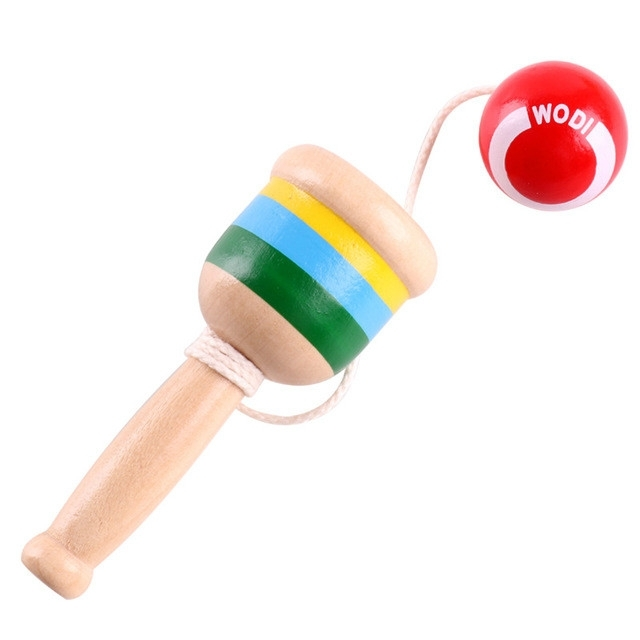 Afbeelding van Jongleren bal buiten spelen ontwikkelen Intelli speelgoed traditionele spelletjes speelgoed baby speelgoed (rode bal)