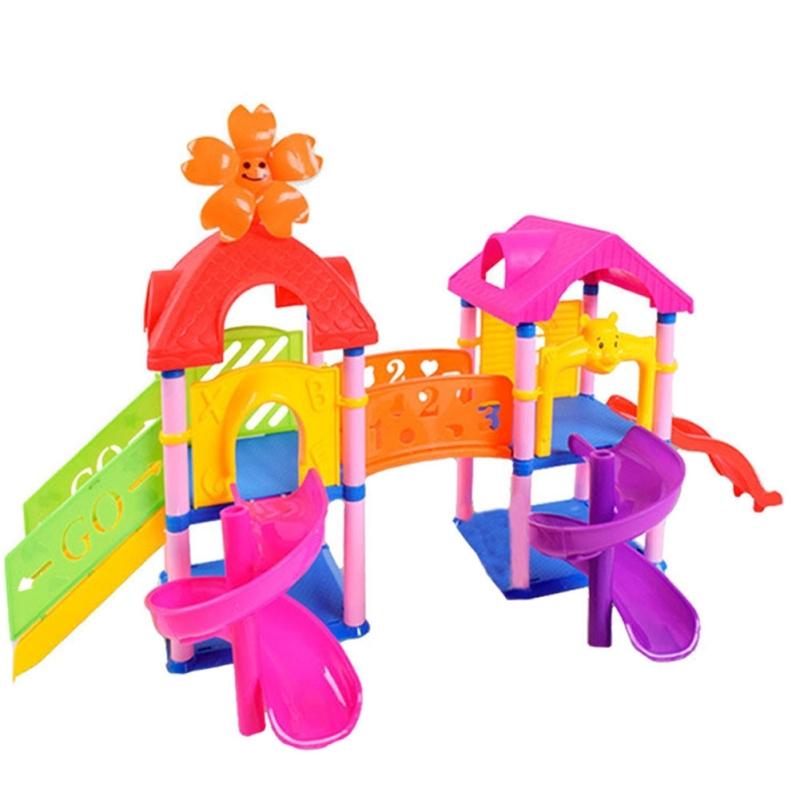 Afbeelding van Kinder vroeg onderwijs speelgoed baby paradijs geassembleerd verlichting bouwstenen speelgoed