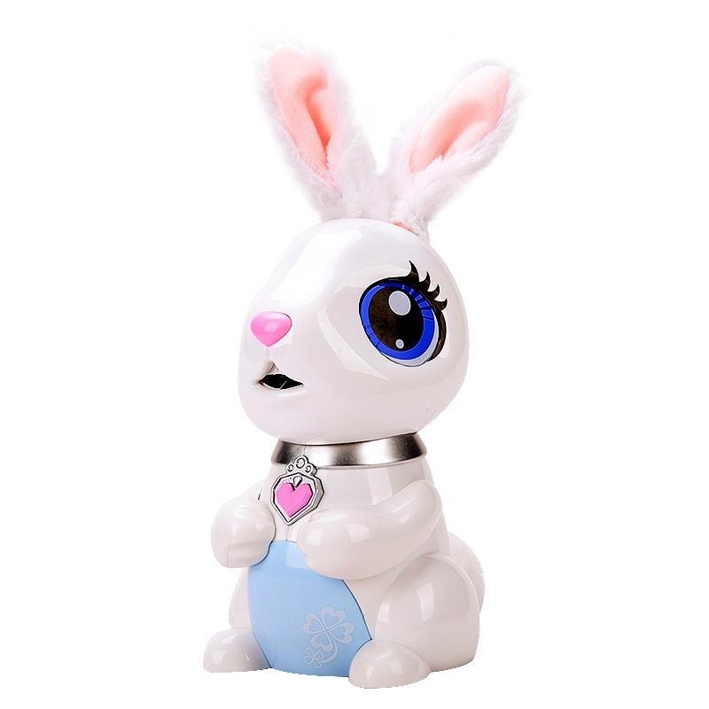 Afbeelding van Kleine Bunny Smart elektrisch speelgoed zingen storytelling kinderen speelgoed (wit)