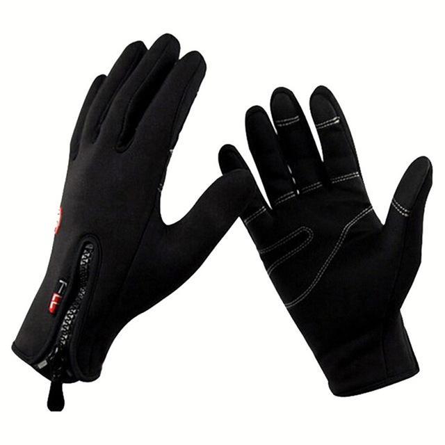 Afbeelding van Winter thermische anti-slip winddichte handschoenen voor Riding alpinisme neopreen touchscreen ademende handschoenen handschoenen grootte: L (A0044)