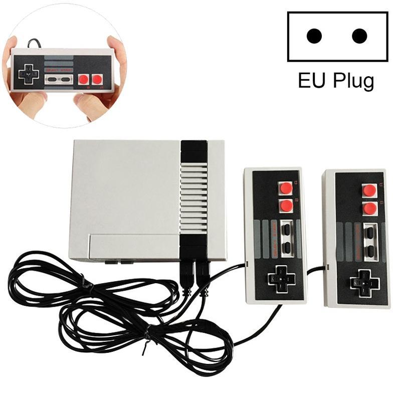 Afbeelding van Mini TV handheld familie recreatie video game console AV-poort retro ingebouwde 620 klassieke games Dual gamepad gaming Player (wit)
