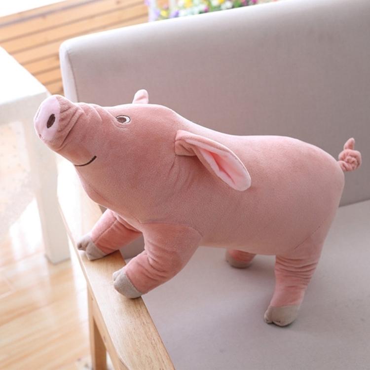 Afbeelding van 25-60cm gevuld speelgoed Piggy Pillow echte leven Knorretje kussen spoof grappig speelgoed