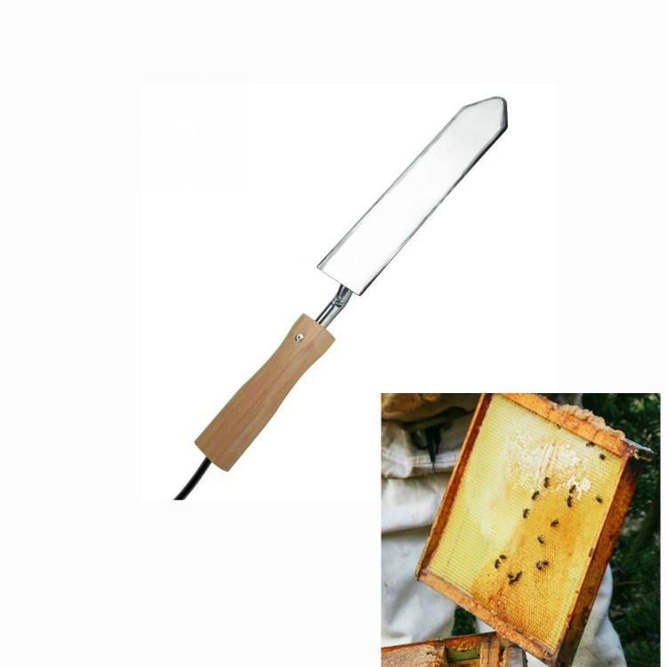 Afbeelding van 16A nest Box nest Foundation bijenteelt apparaten elektrisch snijden honing mes