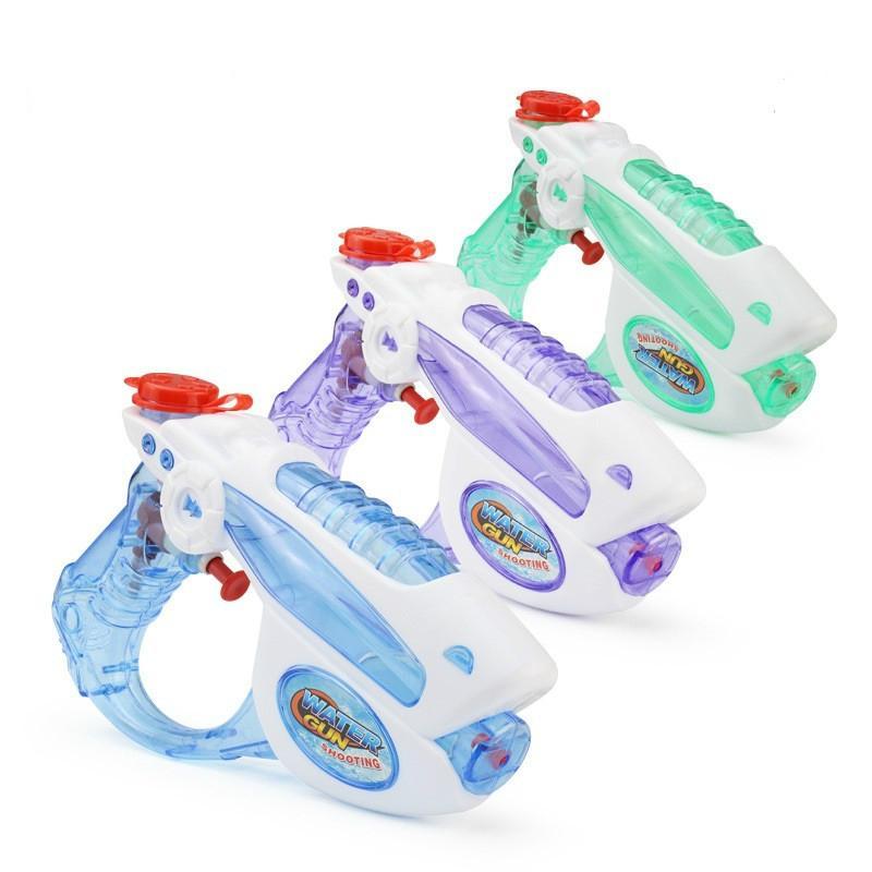 Afbeelding van 3 stuks water geweren kids zomer strand speelgoed buitensport spel badkamer speelgoed kinderen waterkanon pistool schieten pistool speelgoed (willekeurige kleur)