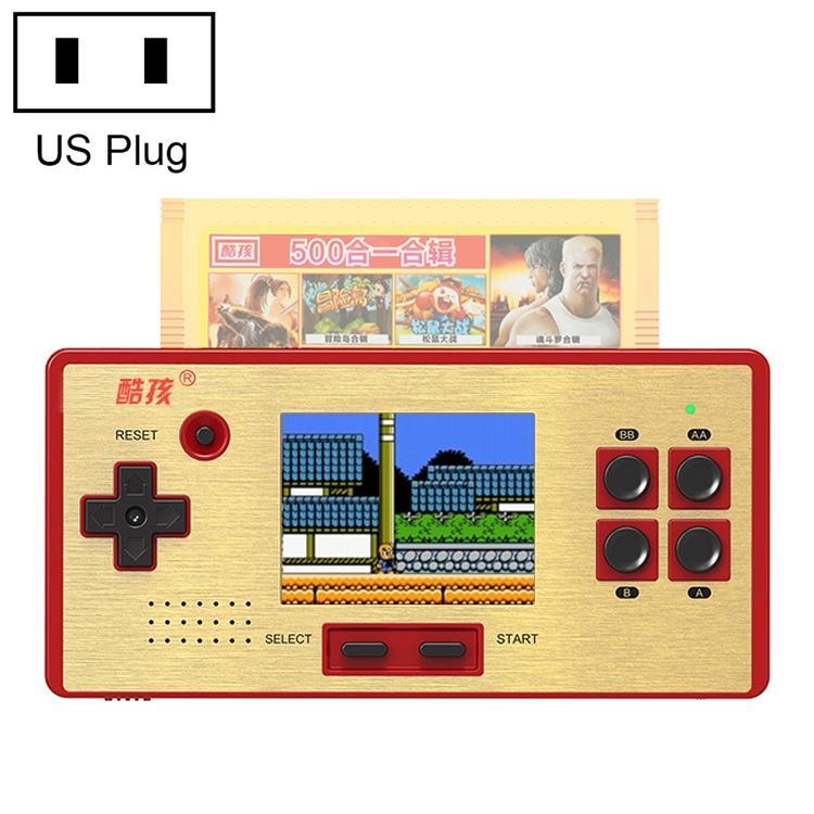 Afbeelding van CoolBaby RS-98 89 in 1 Classic Games Retro kaart Handheld Game Console met 3.0-inch kleurenscherm steun AV Output ons Plug