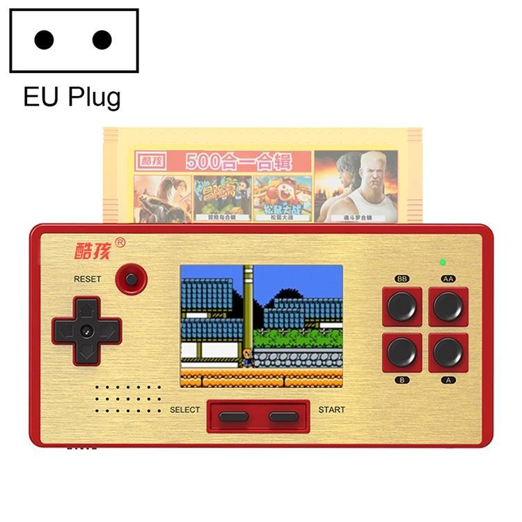Afbeelding van CoolBaby RS-98 89 in 1 Classic Games Retro kaart Handheld Game Console met 3.0-inch kleurenscherm steun AV Output EU Plug