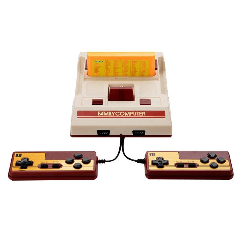 Afbeelding van Retro klassieke TV Mini AV poort Video Game Console ingebouwde 500 Games + 132 in 1 Games Card Amerikaanse Plug