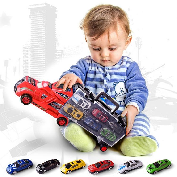 Afbeelding van Kinderen educatieve speelgoed legering speelgoed auto Model willekeurige kleur levering