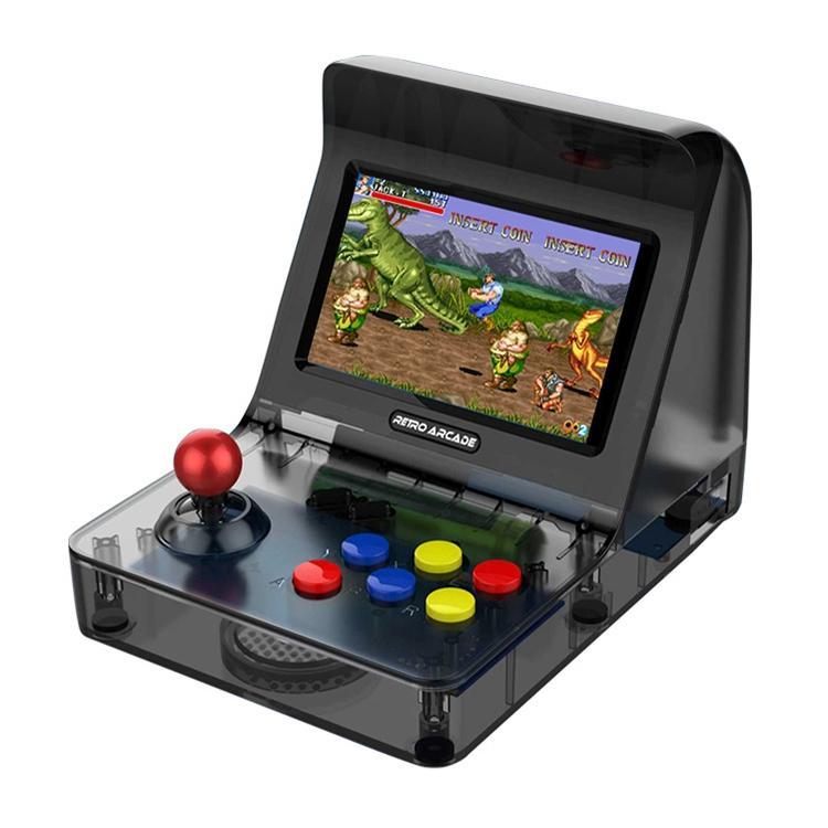 Afbeelding van CoolBaby RS-07 NEOGEO Aracade Mini Rocker Classic Games Retro Handheld Game Console met 4.3 inch HD-scherm steun AV Output(Black)