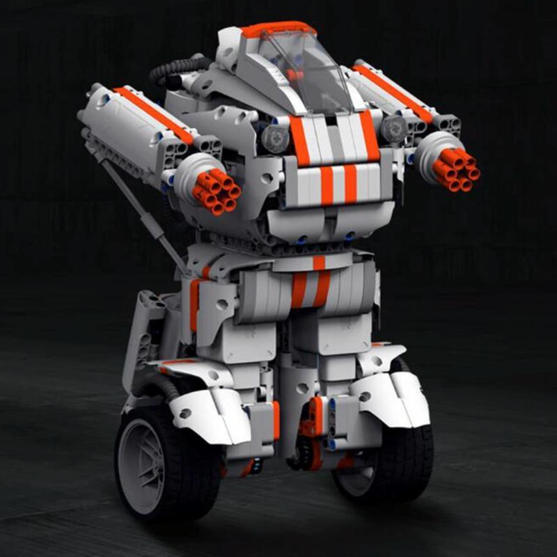 Afbeelding van Originele Xiaomi Mi Robot Builder algemene versie DIY codering speelgoed Support telefoon controle Amerikaanse Plug