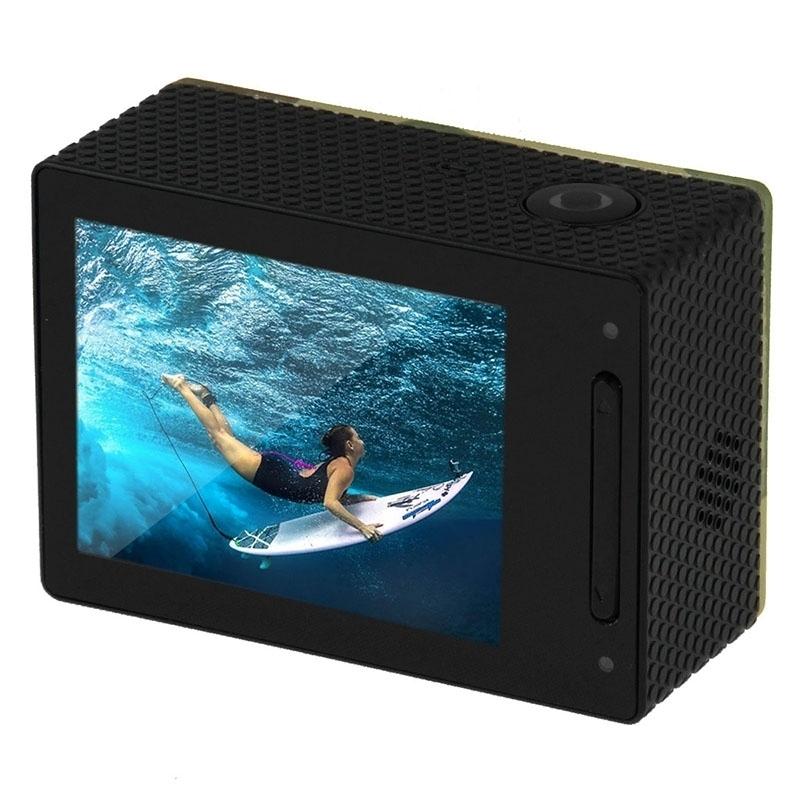 PULUZ U6000 Full HD 1080P 2.0 inch LCD scherm Multi-functie Waterdicht WiFi Sport actie Camcorder, Novatek NT96650 Chipset, 175 graden groothoek Lens (Camouflage)
