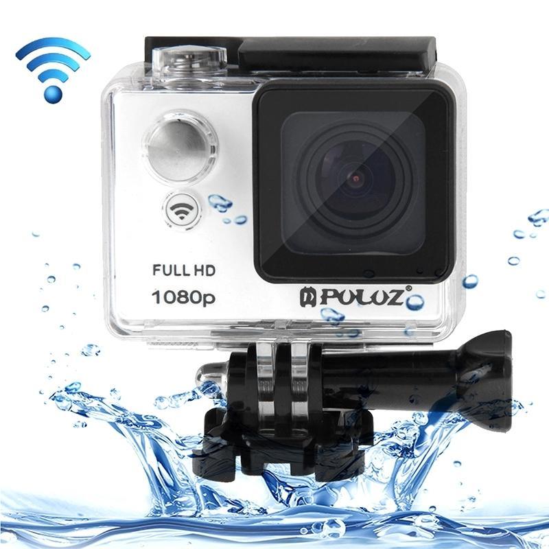 PULUZ U6000 Full HD 1080P 2.0 inch LCD scherm Multi-functie Waterdicht WiFi Sport actie Camcorder, Novatek NT96650 Chipset, 175 graden groothoek Lenswit